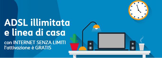 Tim internet senza limiti e chiamate a 0 cent min for Internet senza fili casa