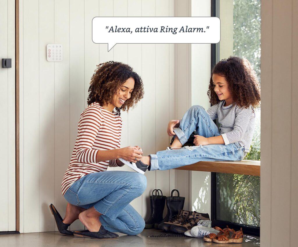 Ring Alarm Alexa